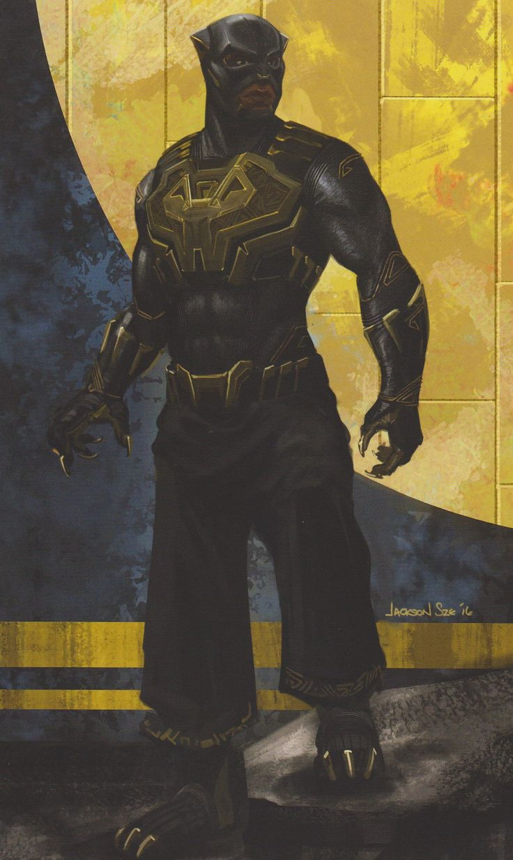 BLACK PANTHER: New T'Chaka Concept Art Puts The Hero's Father In T'Challa's Classic Comic Book Costume