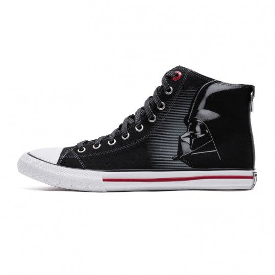 Idol Store – Geek Cloud Star Wars Converse Darth Vader Canvas Shoes Skechers VII