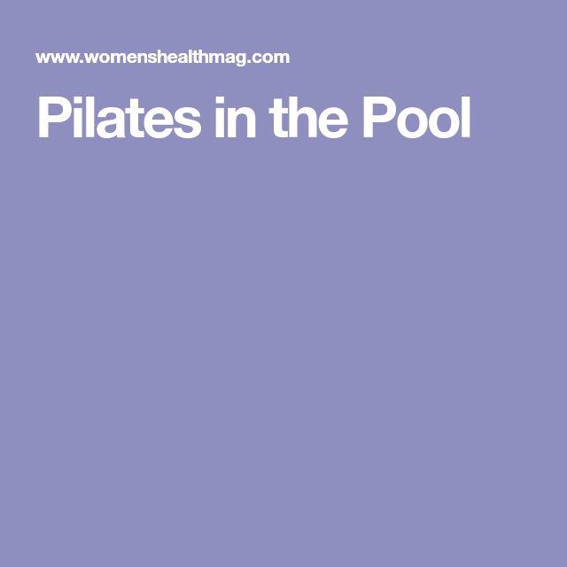 Best 25 Swimming Pool Exercises Ideas On Pinterest