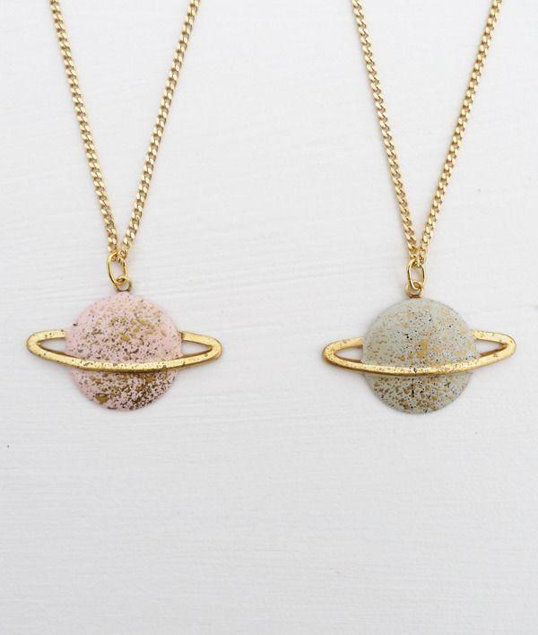 ~ saturn necklace ~