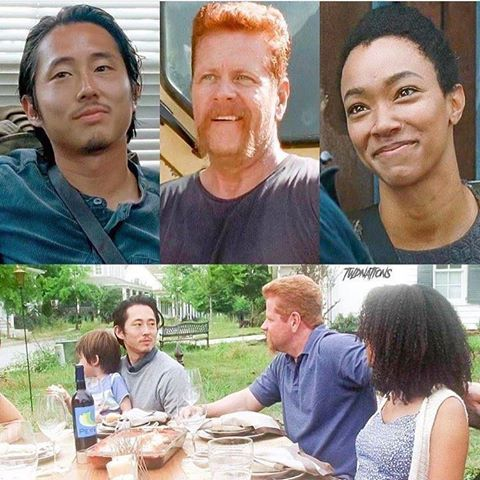 It was foreshadowing not only Glenn and Abraham's death but also Sasha. Also saying goodbye to them