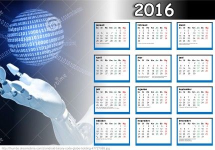 Kalender 2016 Free Download Design - Community - Google+