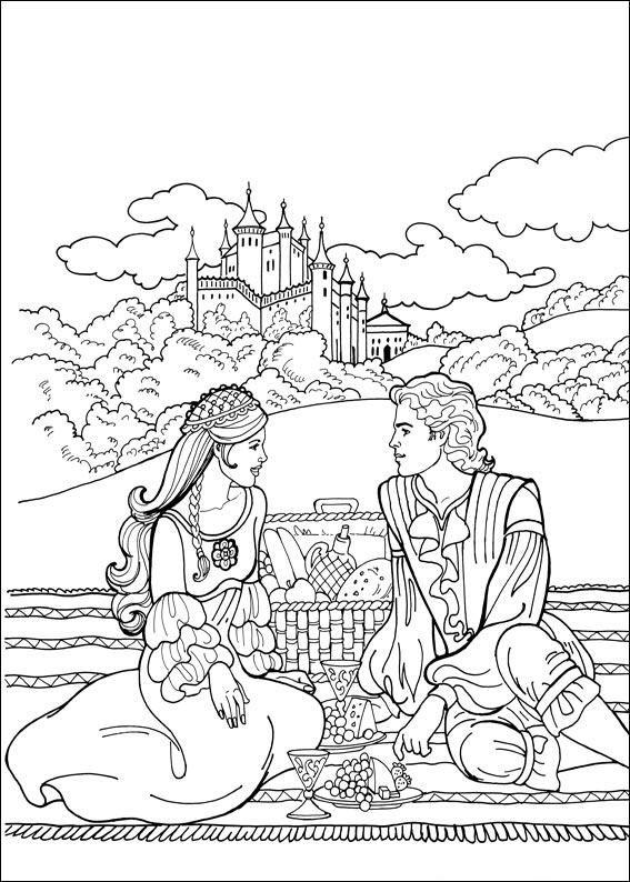 Princess Leonora Schattig Ik Krijg Gelijk Inspiratie Om Maar Naar Bed Te Gaan Barbie Coloring PagesColoring SheetsAdult
