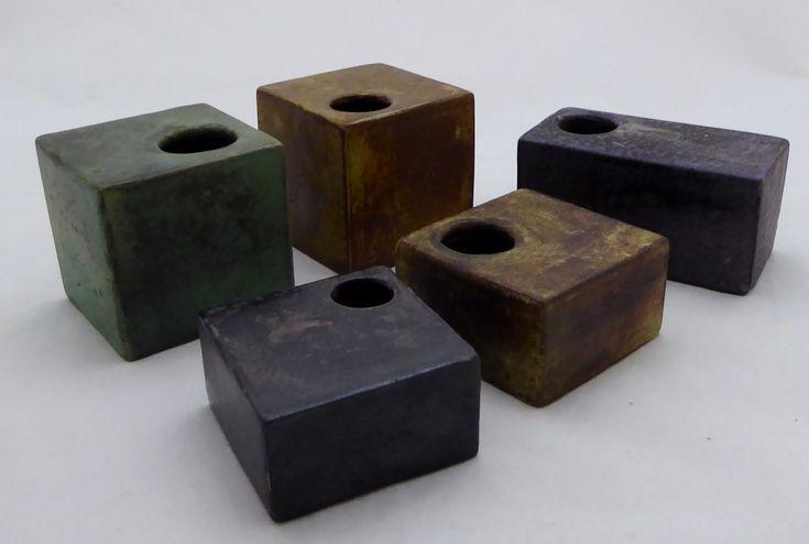 """Mobach """"blokvazen""""  Found these in webshop DutchArtPottery"""