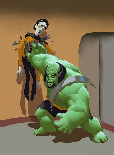 Worf Hulk