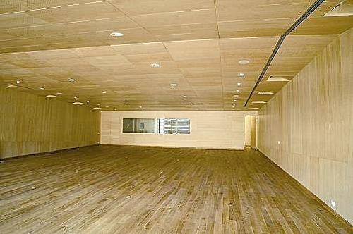 Faux-plafond acoustique / en bois / en dalle LEO 44. SPIGOTEC SPIGOGROUP