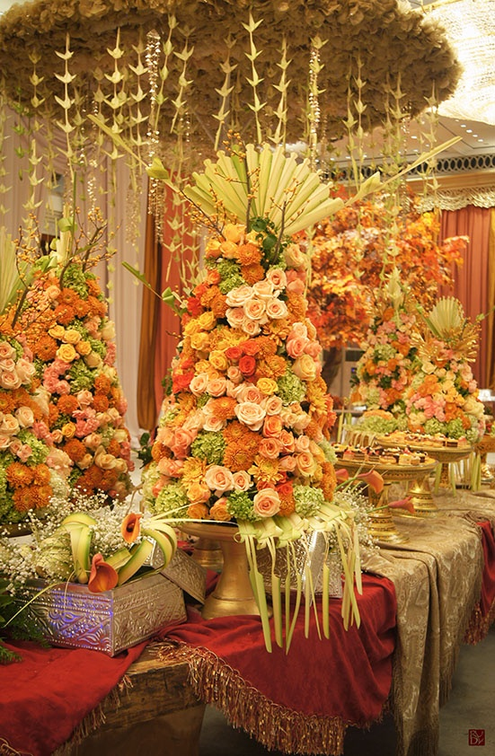 Wedding floral arrangements a collection of weddings for Balinese decoration