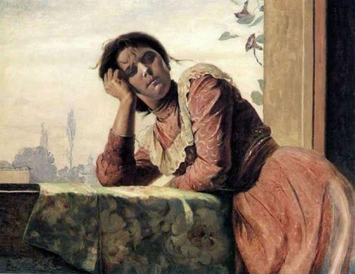Tela al óleo Pedro Lira Rencoret, Santiago, Chile, 1872-1901.