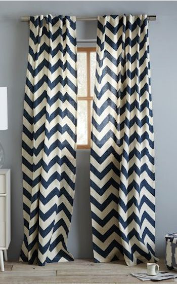 Curtains Ideas chevron print curtains : 1000+ images about Curtains on Pinterest | Sheer curtains, Window ...