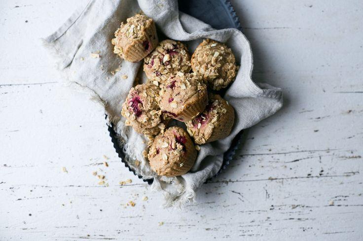 Muffins aux Canneberges et à l'Orange + Lectures du Weekend