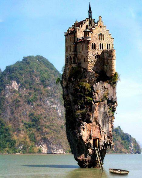 Breathtaking! Castle House Island in Dublin, Ireland.