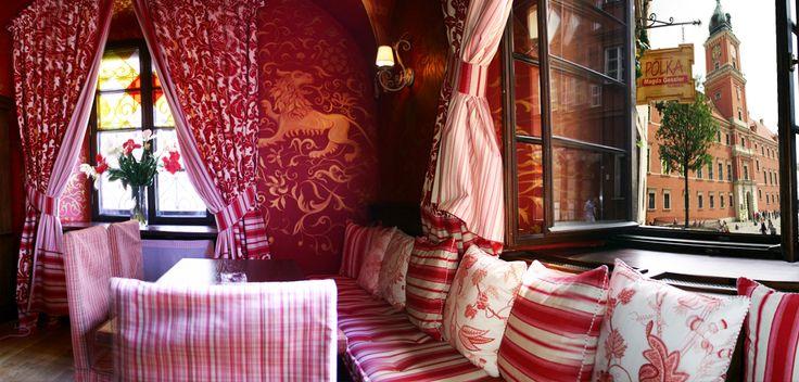 Zdjęcia wnętrz | Restauracja Polka w Warszawie...do odkrycia....byliśmy , zjedliśmy, napiliśmy się ...jest baaardzo piękni i smacznie, obsługa spokojna i bardzo kulturalna...polecamy