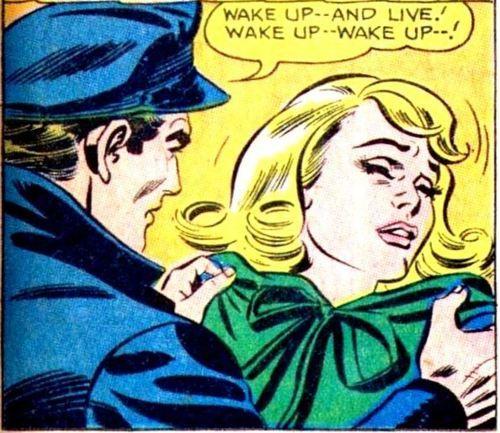 """Comic Boys Say.. """"wake up..and live ! """" #Vintage #Comic"""