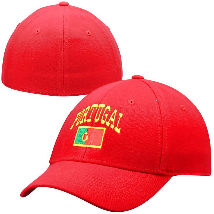 Top of the World Portugal Country 1Fit Flex Hat - Red - $15.19