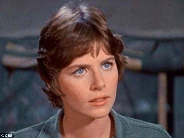 War nurse: Marcia played nurse Margie Cutler
