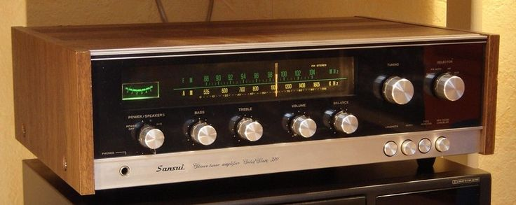 Sansui. Stereo Tuner Amplifier. Solid State 310.JPG
