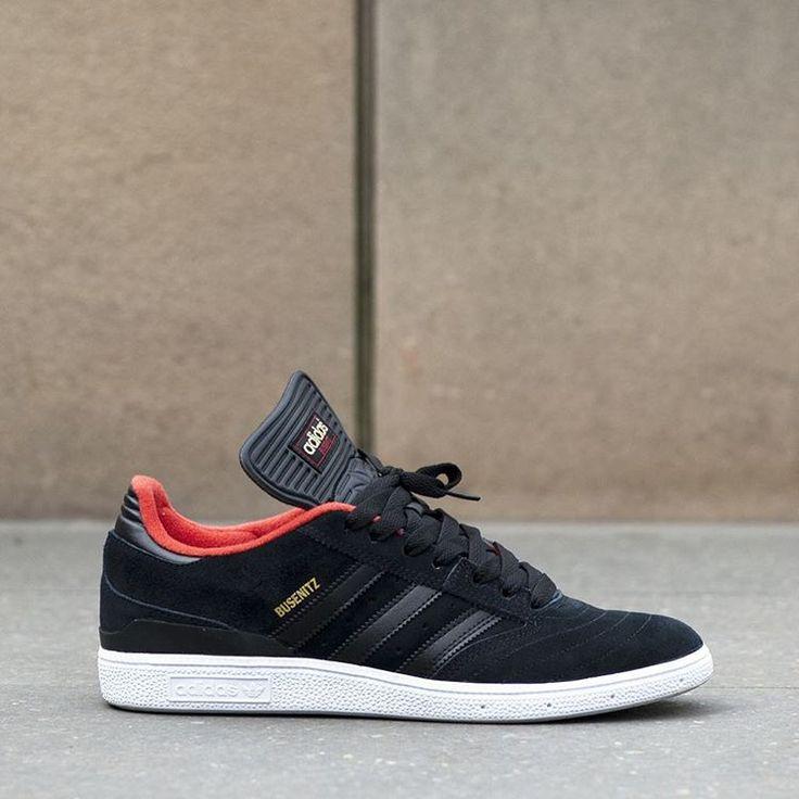 Adidas Skateboarding Busenitz: Black/Red