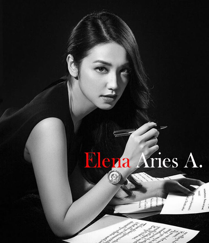 Just for fiction Velove Vexia as Elena Aries A.