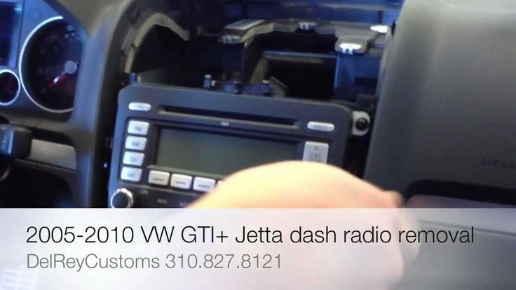 http://www.strictlyforeign.biz/default.asp How to remove radio VW JETTA GTI R32 2005-2010 stereo repair diy