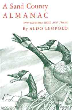 A Sand County Almanac  Leopold's Sand County Almanac is a collection of essays that capture the 'fierce green fire' in a philosophy that has gone on to influence a generation of environmental awareness.