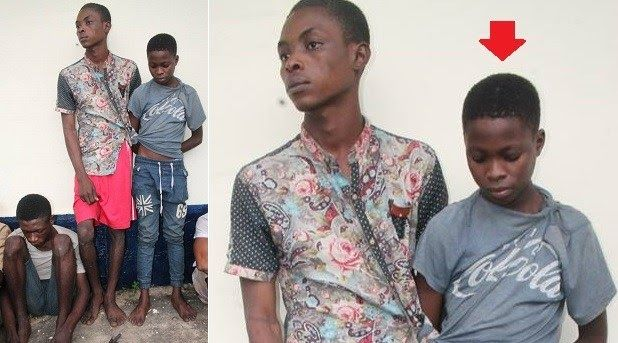 Police operatives attached to Isiala-Ngwa North Division during a raid of suspected criminal hideouts at Mbubo Nsulu Isiala-Ngwa North arrested four teenagers belonging to the notorious ABC cult group.  The cultists whose names are David Adieze aged 18yrs Chinemere Isaac aged 14yrs Chimezie Moses Francis 17yrs and Okon Effiong Samuel aged 19yrs were arrested with one locally made Revolver pistol its 2 rounds of live ammunition and charms. Investigation is in progress.  Also policemen…