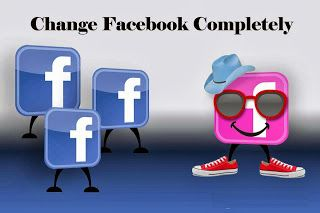 We are using facebook from a very long time and some of them are now bore with same facebook color and background picture and lots of ads which continusly rotating and also irritating.Now i am Telling about cool free apps which solve all your problem with single click