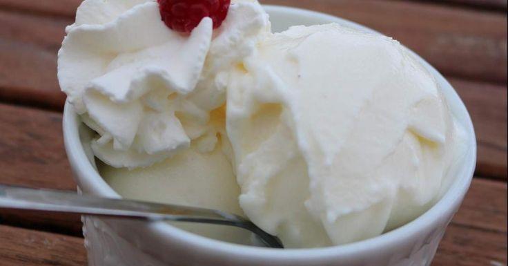 Glace au yaourt bulgare