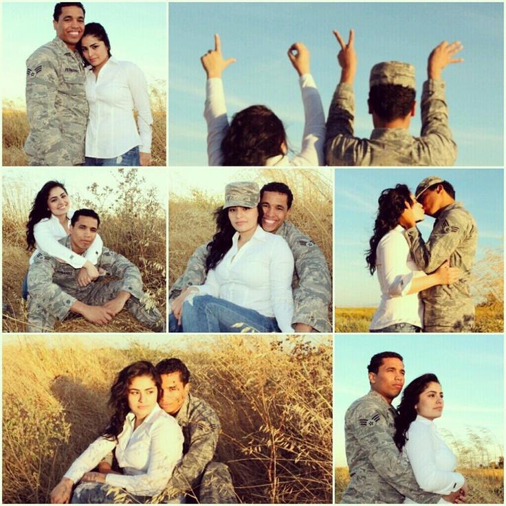 Military couple photoshoot I did
