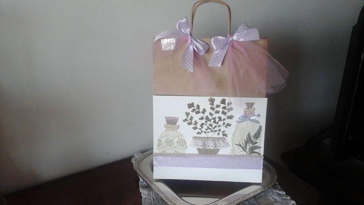 Romantic  shopping bag
