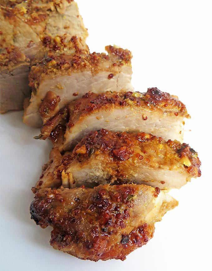 Honey-Roast Garlic Pork | Olive Tree Kitchen