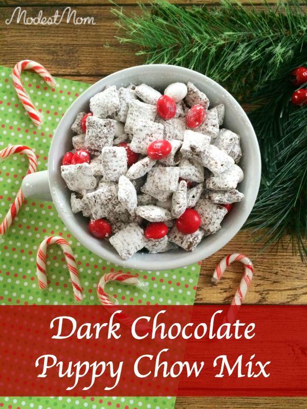 Holiday Desserts: Dark Chocolate Puppy Chow Mix Recipe