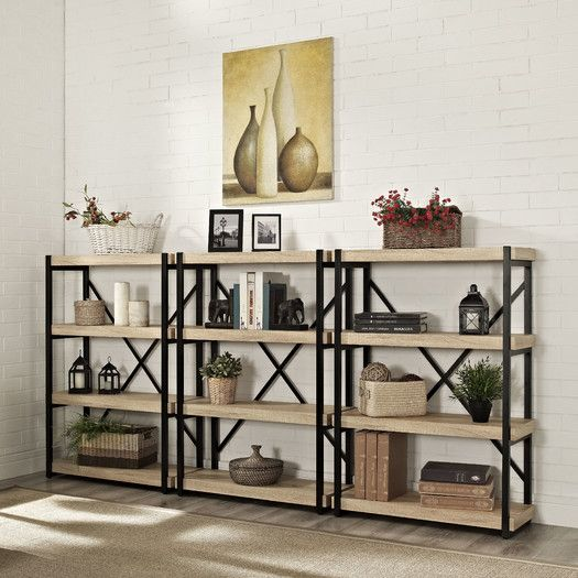 "Brayden Studio Cooksey 44"" Etagere Bookcase"