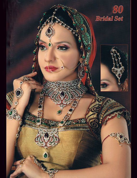 SUPER SALE With FREE Shipping Indian Bridal by BeautyShop21, $210.00