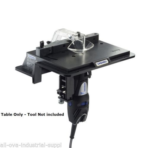 Dremel-Shaper-Router-Table-231-Black-use-with-Rotary-Dremel-tool-models