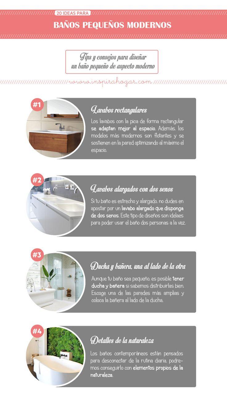 The 25 best decoracion para ba os peque os ideas on - Banos pequenos ideas ...