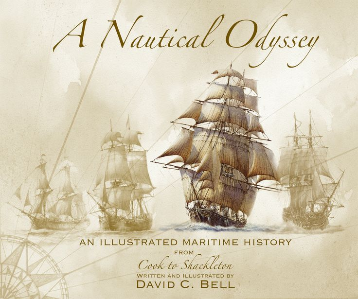A Nautical Odyssey by David C Bell | Quiller Publishing. David Bell has painted maritime subjects for over forty years and in pursuit of this has done a tremendous amount of research; from smacks to schooners, whalers to warships, his investigations have taken him on a fantastic pictorial journey through the history of the sea. Linking together factual text and chapters this book is charged with paintings of artistic vision. #nautical #odyssey #ship #history