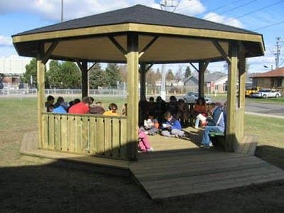 The Keith Trimper Memorial Playground: OUTDOOR CLASSROOM