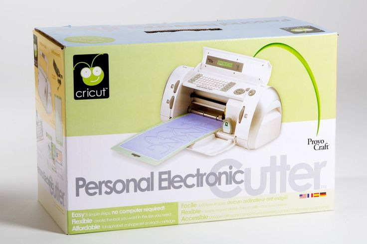 Cricut personal electronic cutter by provo craft 29 0001 for The cricut craft machine