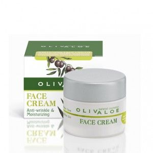 http://www.greekpharma.com/shop/olivaloe-face-cream-oily-normal-skin/ Olivaloe face cream, with organic olive oil, organic aloe vera, green tea, vitamin tea, vitamin E, provitamin B5, jojoba oil, as well as anti-aging and hydrating factors. The combined effect of these natural ingredients moisturizes the skin, restores its elasticity and protects it from rough conditions and the wear of time.