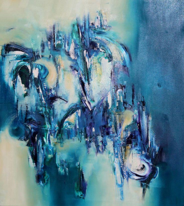 """""""La Fuerza del Deseo""""- Silvia Hilerowicz -óleo sobre tela- 80 x 70 - www.esencialismo.com"""
