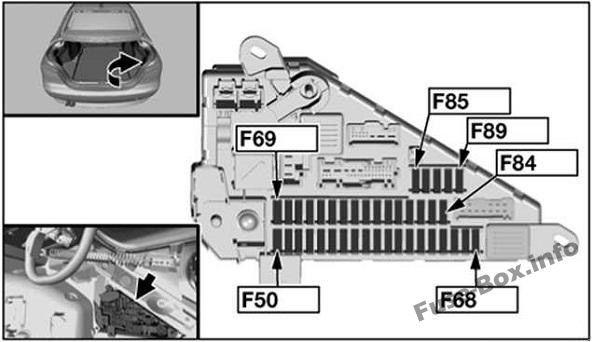 Bmw 5 Series E60 E61 2003 2010 Fuse Box Diagram Fuse Box Bmw 5 Series Windscreen Wipers