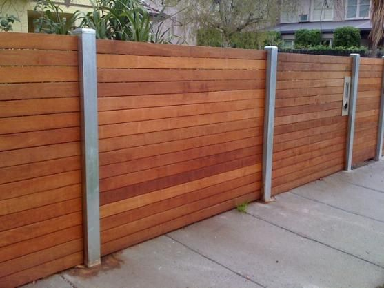 Fence Designs by JND Timber & Steel - vertical rather than horizontal