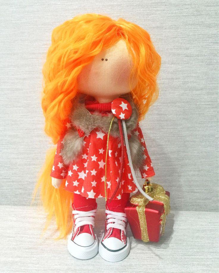 Купить Интерьерная кукла - кукла, кукла ручной работы, кукла в подарок, кукла интерьерная