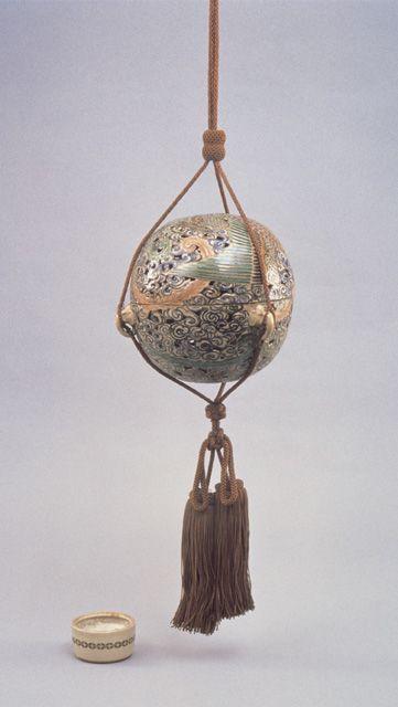 Hanging Japanese incense burner