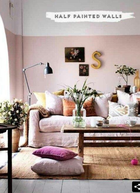 72 besten einrichten mit rosa bilder auf pinterest | einrichtung ... - Rosa Wande Wohnzimmer
