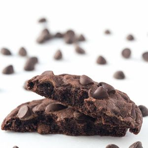 Mom's Double Chocolate Cookies