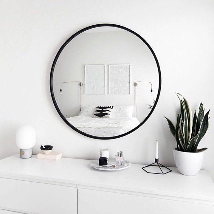 117 melhores imagens de espejo redondo no pinterest amy for Espejo redondo blanco