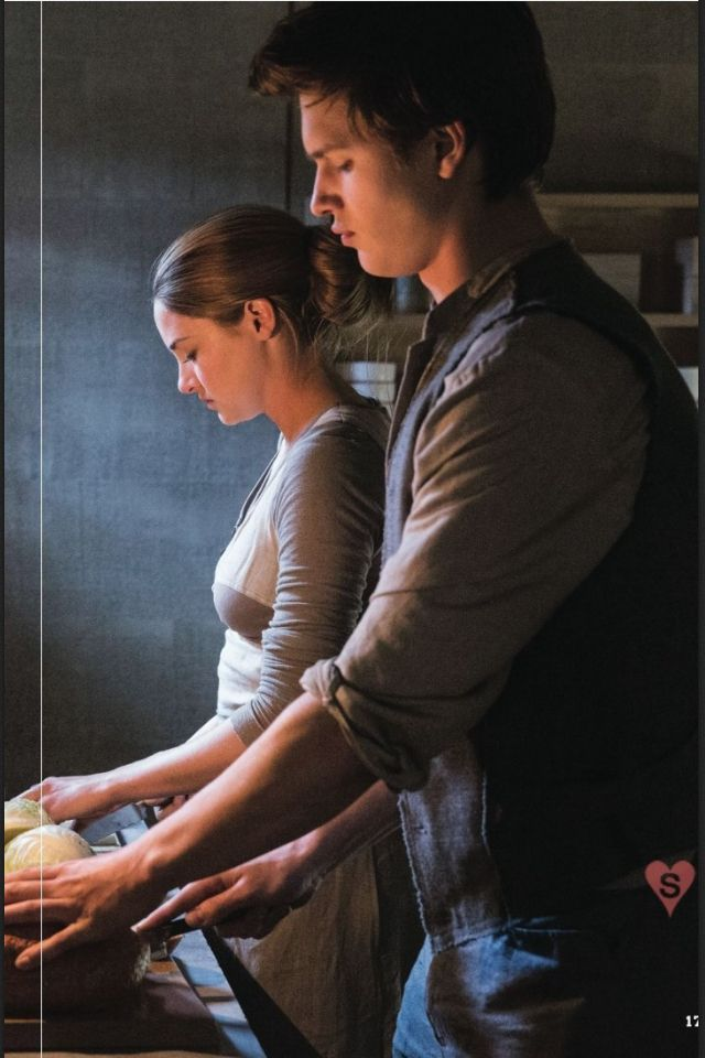 Tris and Caleb/hazel and Augustus  I hate/love Caleb/Augustus!