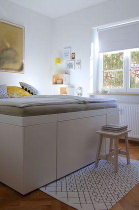 Die besten 17 Ideen zu Schrankbett Selber Bauen auf Pinterest  Lagerbetten, Bett selber bauen ...