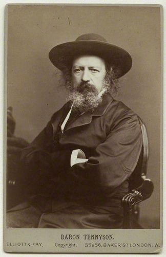 Birthday of English poet Alfred, Lord Tennyson (August 6, 1809 - 1892) - Poet Laureate of the United Kingdom for much of the Victorian era…